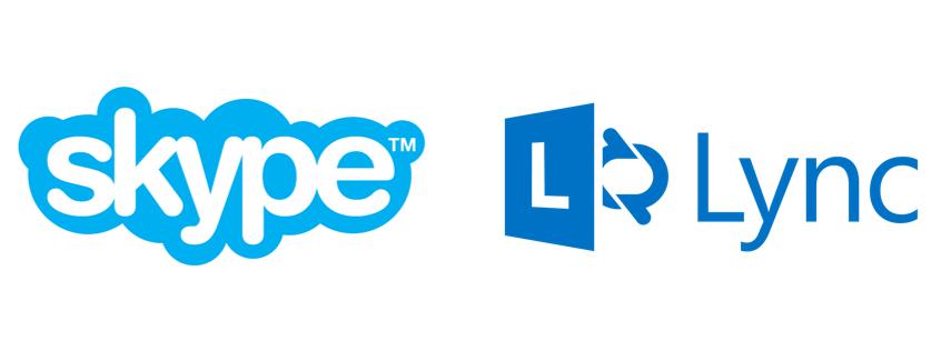 Lync-Skype_logo