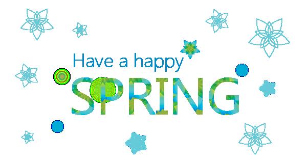 Have a happy spring!