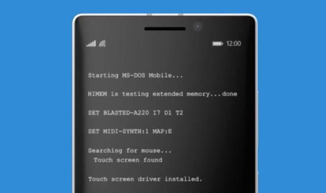 msdos-mobile
